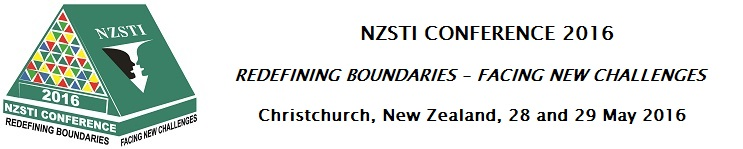 Logo of the 2016 NZSTI Conference